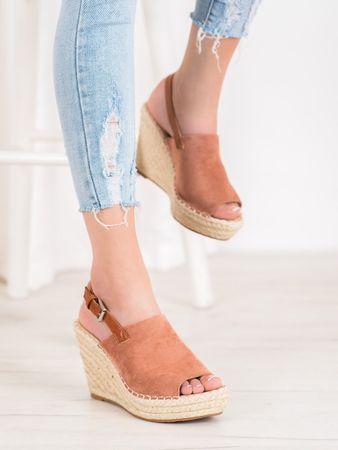 Női szandál 64810 + Nőin zokni Gatta Calzino Strech, rózsaszín árnyalat, 40