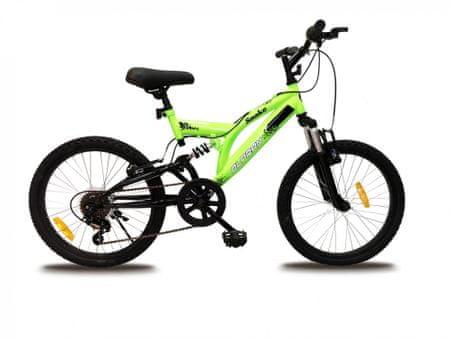 """Olpran kerékpár Snake 20"""", zöld"""