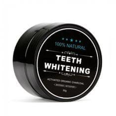aktivni ugljen za čišćenje i izbjeljivanje zuba, organski, 30 g