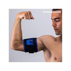 InnovaGoods elektro stimulator za jačanje mišića, crna/plava