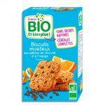 Dukan Měkké sušenky s pomerančem a kousky čokolády Dukan Bio (150 g)