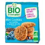 Dukan Mini cookies s borůvkami a chia Dukan Bio (120 g)