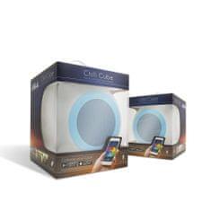 M.N.C. Vodotesen RGB LED bluetooth zvočnik M.N.C. Chill Cube 5W 20x20cm z daljincem iTunes and Google Play and