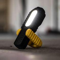 PHENOM USB LED akumulatorska delovna svetilka vodotesna IP64 z magnetom in indikatorjem stanja baterije 2v1