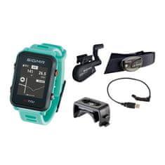 Sigma iD.TRI SET multisportovní hodinky - neon mint