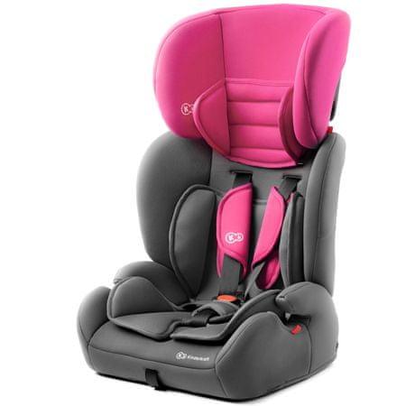KinderKraft avtosedež CONCEPT, Pink, roza