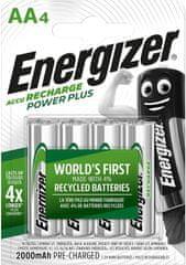 Energizer Akumulatorki ołówek Power Plus AA HR6 FSB4 2000 mAh