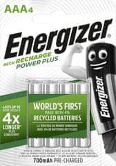 Energizer Akumulator - Power Plus AAA 700 FSB4 wstępnie naładowany