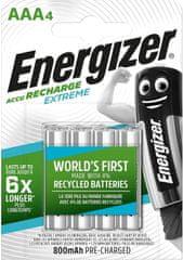 Energizer Akumulator - HR03 Extreme AAA 800mAh FSB4