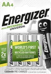 Energizer Akumulator - Uniwersalny AA 1300 FSB4 wstępnie naładowany