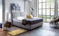 We-Tec Boxspring manželská posteľ ANTONIA 180x200 cm s matracmi