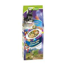 Nestor Krmivo pro králíčky s bylinami a senem 700ml/340g
