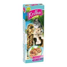 Nestor KOLBA STICK tyčinka pro hlodavce s ořechy 2ks 115g