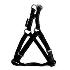 Zolux MAX LEATHER Hám bőrből fekete 48x68cm/20mm