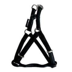 Zolux MAX LEATHER Postroj kožený čierny 60x98cm/25mm pre psa od 20 do 40kg