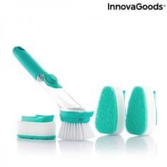 InnovaGoods Cleasy ščetka za čiščenje, z ročajem in razpršilnikom mila