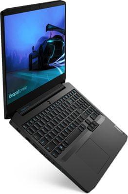 Notebook Lenovo IdeaPad Gaming 3 15ARH05 (82EY006NCK) výkon SSD Intel Core i5 NVIDIA GTX 1650 Ti Full HD