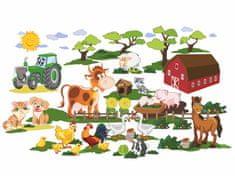 RoomDecor.eu Dětské samolepky na zeď Farma