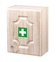 ŠTĚPAŘ Nástenná lekárnička LUX veľká prázdna – dub
