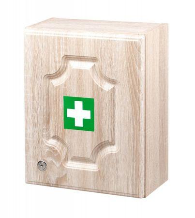 ŠTĚPAŘ Stenska omarica za prvo pomoč LUX za 10 oseb – hrast