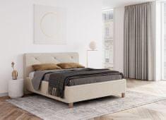 We-Tec Manželská posteľ JANA 1, 180x200 cm s úložným priestorom + 2 ks bočne výklopné rošty, v 3 farbách