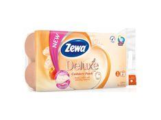 Zewa Zewa Deluxe Cashmere Peach 3vrstvý toaletní papír, 19,3 m, 8 rolí