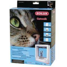 Zolux CAT DOOR ajtó macskáknak mágnes zárral 15x17cm fehér