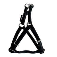 Zolux MAX LEATHER Postroj kožený čierny 26x38cm/10mm pre psa do 5kg