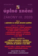 autorů kolektiv: Aktualizace III/1 - Zákon o pojistném na veřejné zdravotní pojištění, Opatření proti koronaviru
