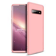 GKK 360 Full Body műanyag tok Samsung Galaxy S10, rózsaszín