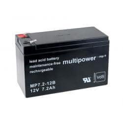 POWERY Akumulátor UPS APC Back-UPS BK500EI