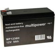 POWERY Akumulátor UPS APC Back-UPS BK350EI 9Ah 12V - Powery originál