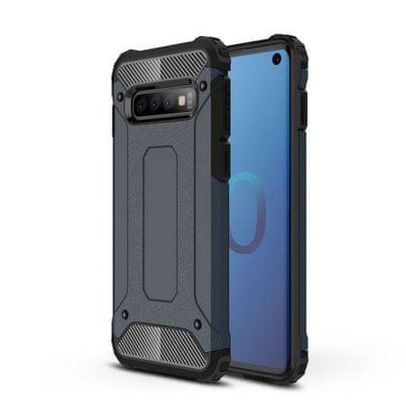 MG Hybrid Armor plastika ovitek za Samsung Galaxy S10, modra