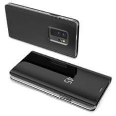 MG Clear View knížkové pouzdro na Samsung Galaxy A10, černé