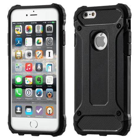 MG Hybrid Armor plastika ovitek za iPhone 11, črna
