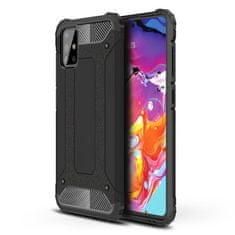 MG Hybrid Armor műanyag tok Samsung Galaxy A71, fekete