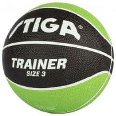 Stiga košarkaška lopta, vel. 3, zelena / crna
