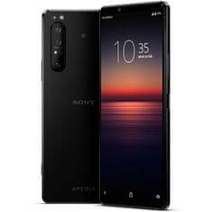 Sony Xperia 1 II mobilni telefon, crna