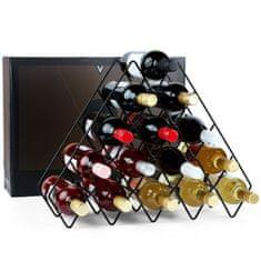VonShef stojalo za vino, 15 steklenic