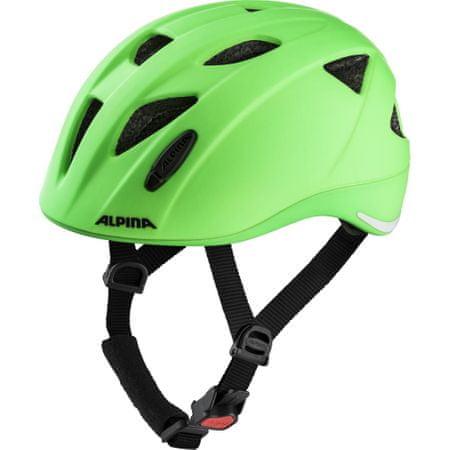 Alpina Sports Ximo LE otroška kolesarska čelada, zelena, 47-51