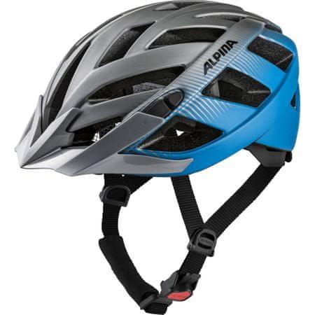 Alpina Sports Panoma 2.0 LE biciklistička kaciga, sivo-plava, 56-59
