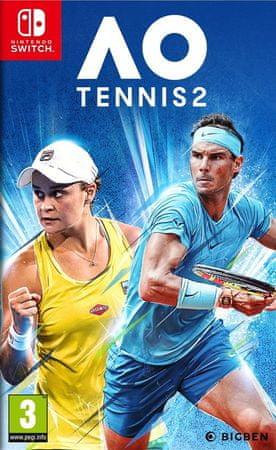 Nacon Gaming AO Tennis 2 igra (Switch)