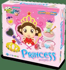 Jumping Clay Velká sada modelíny k výrobě princeznovských doplňků