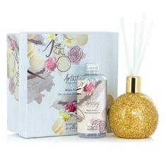 Ashleigh & Burwood Difuzér GOLDEN ORB s vôňou WHITE VANILLA (biela vanilka), 180 ml, ARTISTRY