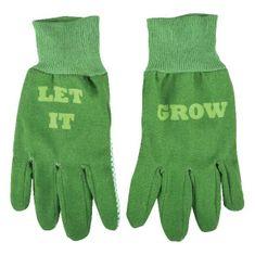 Esschert Design bavlněné zahradní rukavice Let It Grow