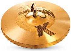 "Zildjian 14 1/4"" K Custom hybrid hi hat Činely hi-hat"