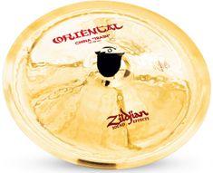 "Zildjian 14"" Oriental china ""trash"" Činel china"