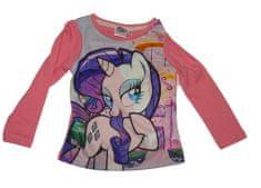 Disney Dívčí tričko s dlouhým rukávem My litte ponny růžové.