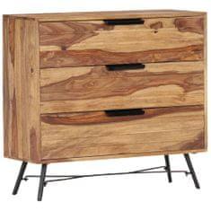 Vidaxl Příborník 80 x 30 x 75 cm masivní sheeshamové dřevo
