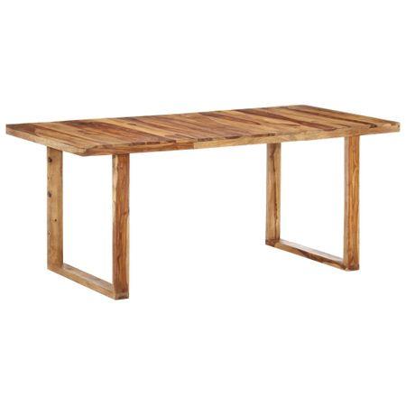 slomart Jedilna miza 180x90x76 cm trden palisander